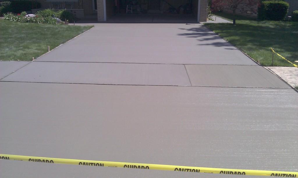 Concrete Driveway Auburn Hills MI
