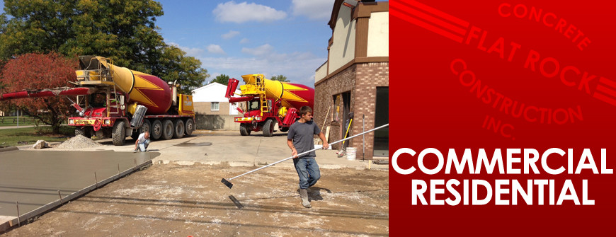 commercial concrete mi