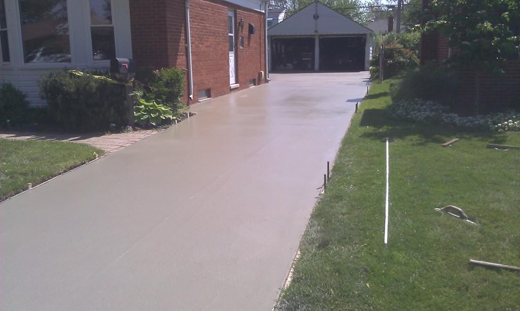 Concrete Driveway Clinton Twp MI
