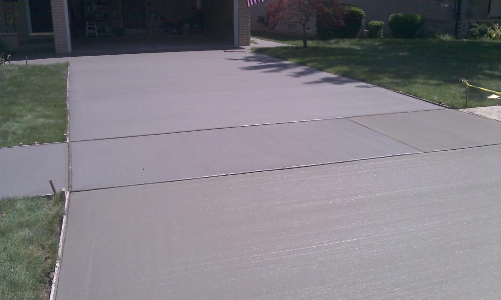 Concrete Driveway Oakland Twp MI