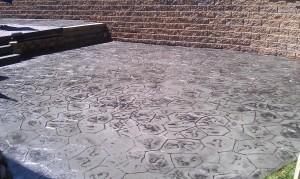 Concrete Patio in Royal Oak Michigan