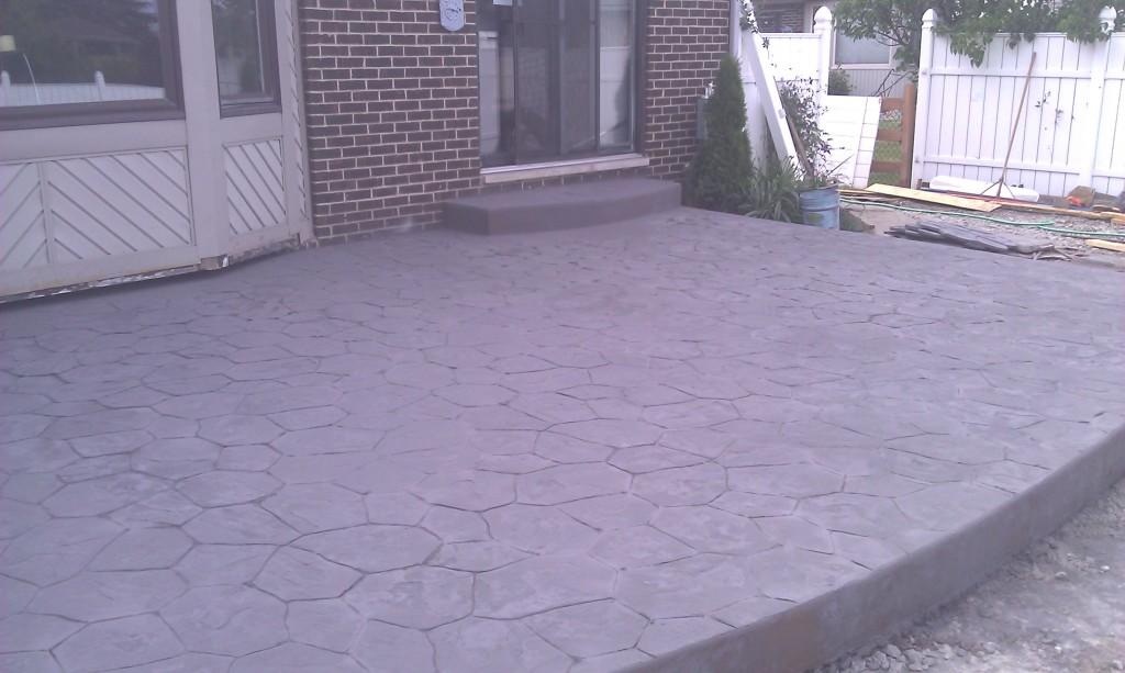 Concrete Patio Shelby Twp MI