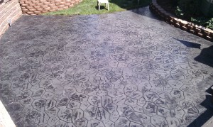 Stamped Concrete Patio in West Bloomfield MI