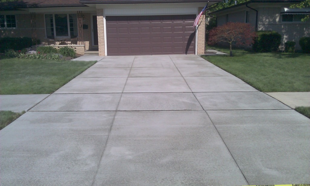driveway concrete installer Washington Twp