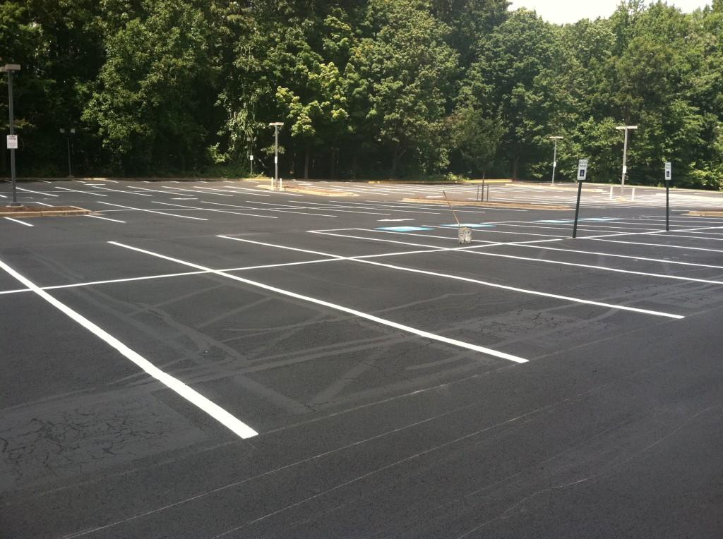 concrete parking lot oakland county mi