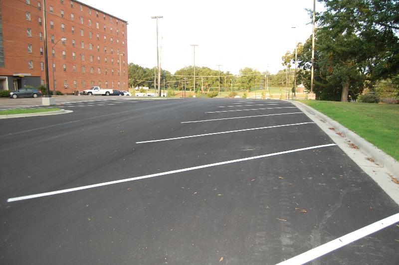 concrete parking lot replacement troy mi