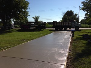 Concrete Driveway Replacement in Troy MI 48084