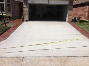 Concrete Driveway in Troy, MI