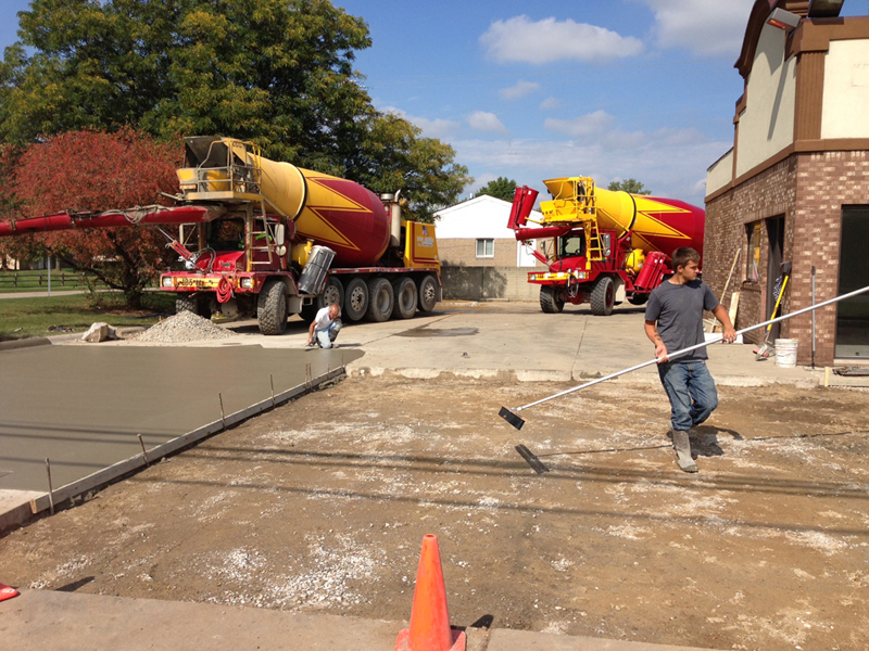 Commerical Concrete Contractors Michigan